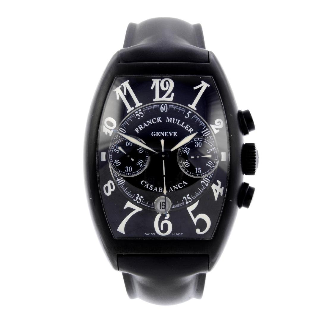 FRANCK MULLER - a gentleman's Casablanca chronograph