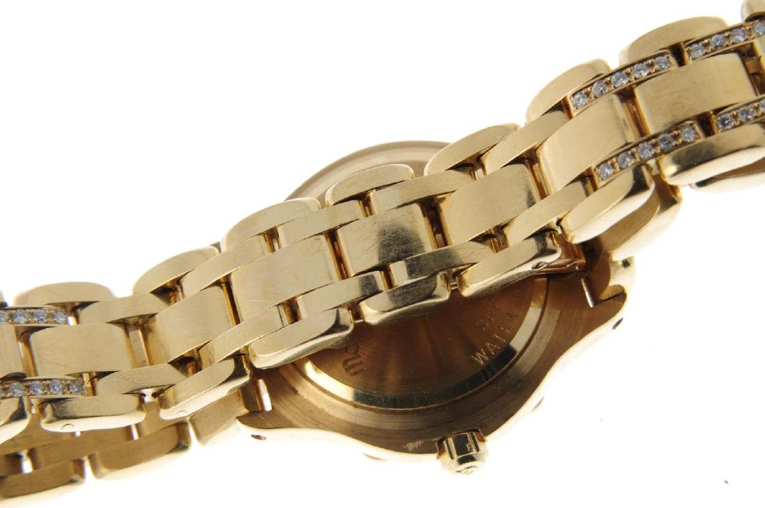 MAURICE LACROIX - a lady's bracelet watch. Yellow metal - 2