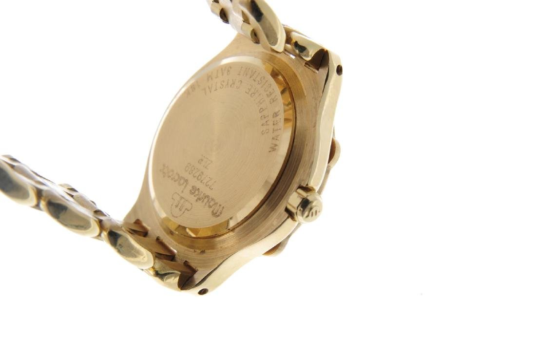 MAURICE LACROIX - a lady's bracelet watch. Yellow metal - 3
