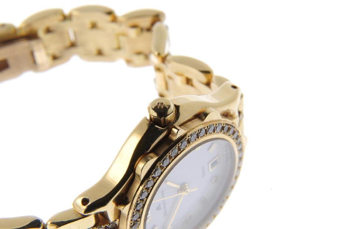 MAURICE LACROIX - a lady's bracelet watch. Yellow metal - 4
