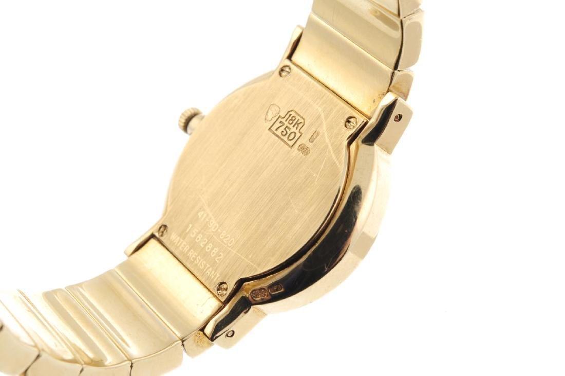MOVADO - a lady's Museum bracelet watch. 18ct yellow - 3