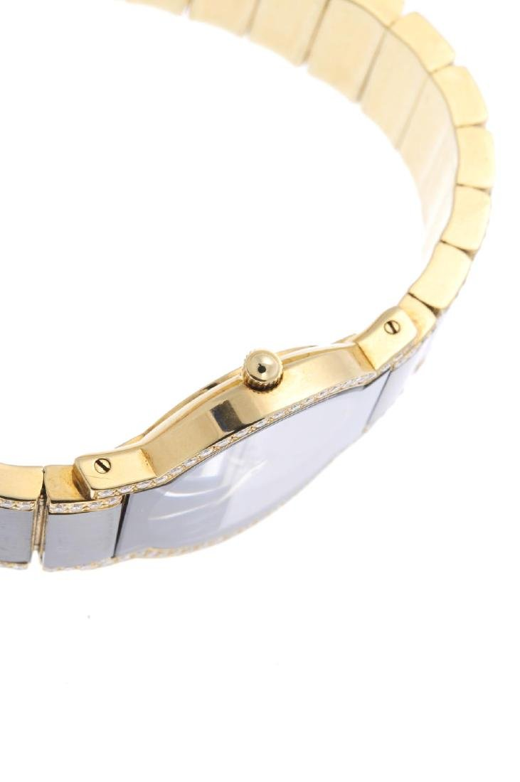 MOVADO - a lady's Museum bracelet watch. 18ct yellow - 4