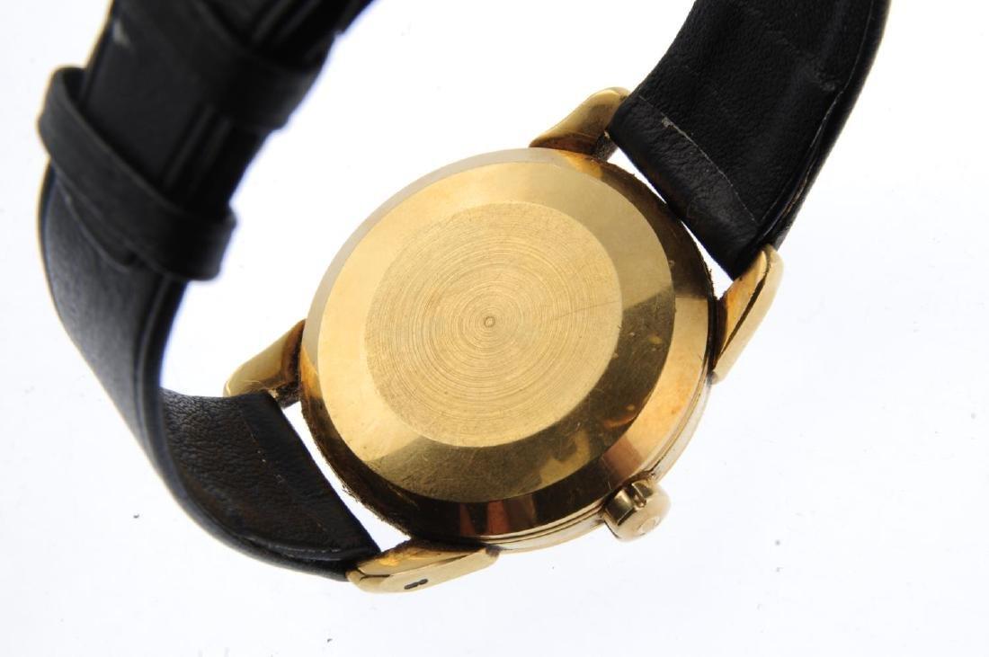 OMEGA - a gentleman's Seamaster wrist watch. 18ct - 3