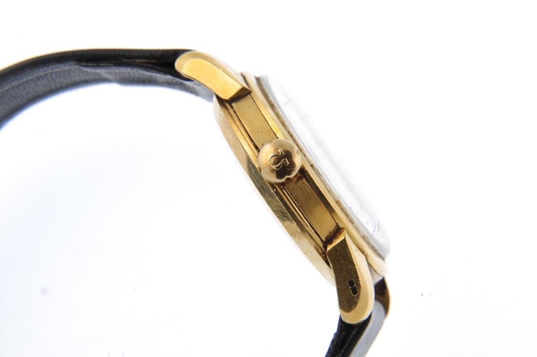 OMEGA - a gentleman's Seamaster wrist watch. 18ct - 4