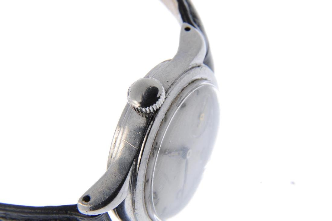 OMEGA - a gentleman's wrist watch. Stainless steel - 4