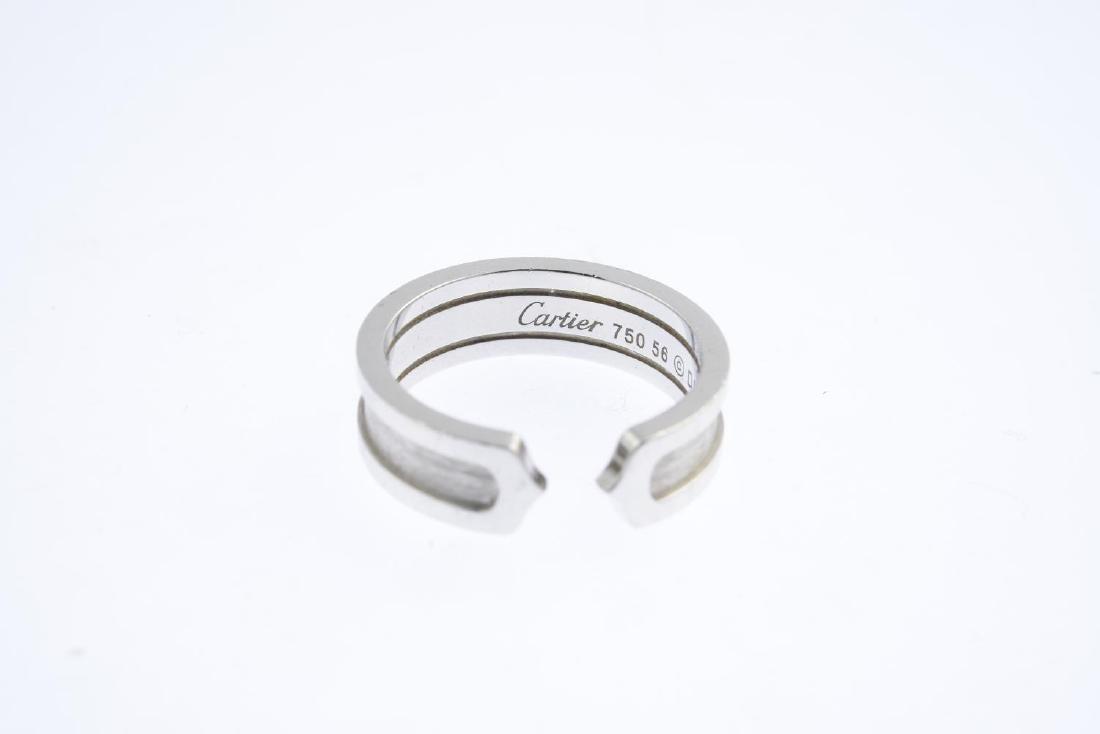CARTIER - a 'C de Cartier' ring. Designed as an - 3