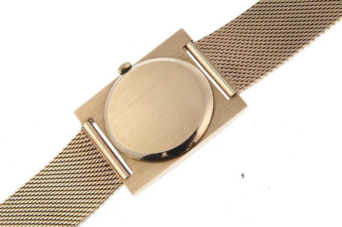 LONGINES - a gentleman's bracelet watch. 9ct yellow - 4