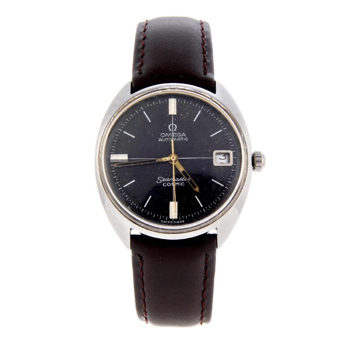 OMEGA - a gentleman's Seamaster Cosmic wrist watch.