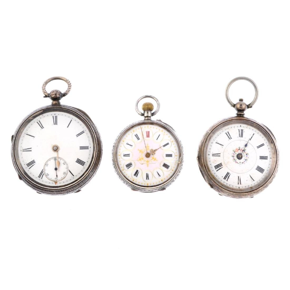 A group of ten assorted pocket watches, to include