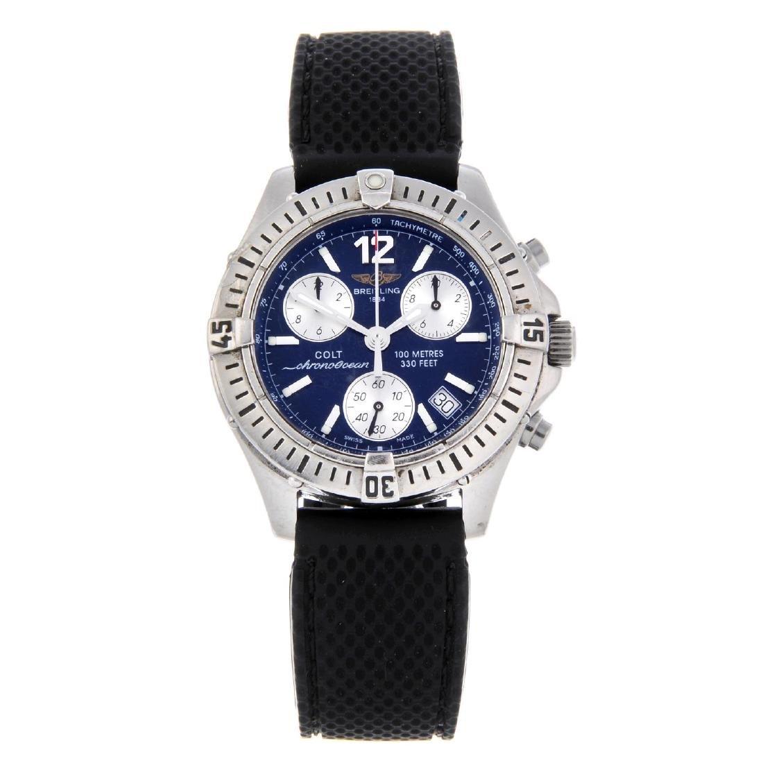 BREITLING - a gentleman's Chrono Colt Ocean chronograph