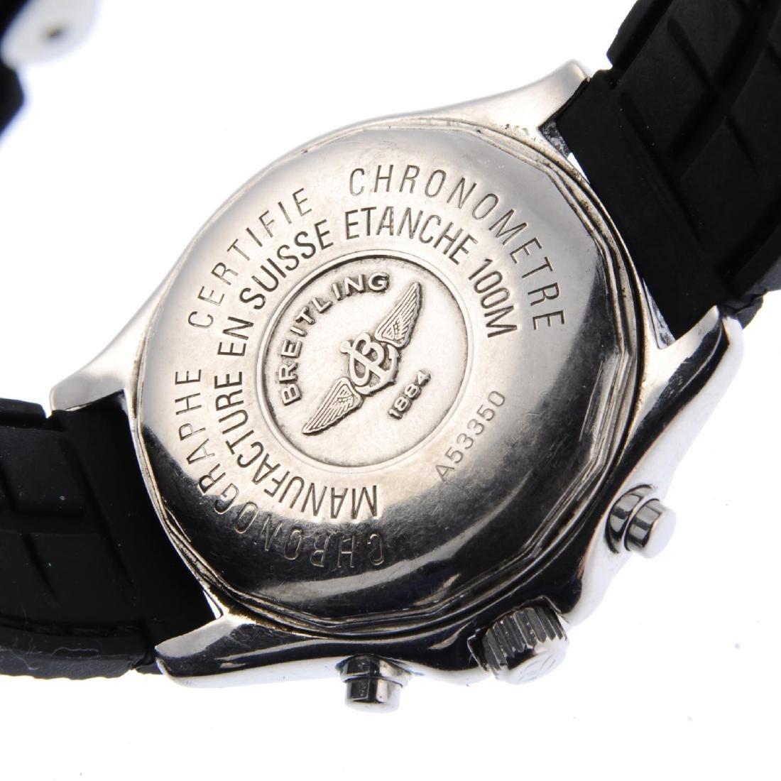 BREITLING - a gentleman's Chrono Colt Ocean chronograph - 3