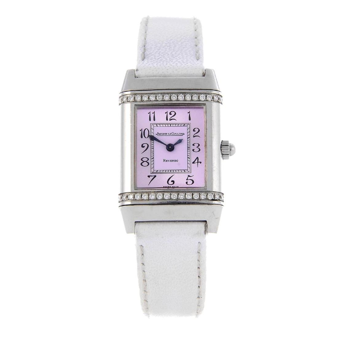 JAEGER-LECOULTRE - a lady's Reverso wrist watch.