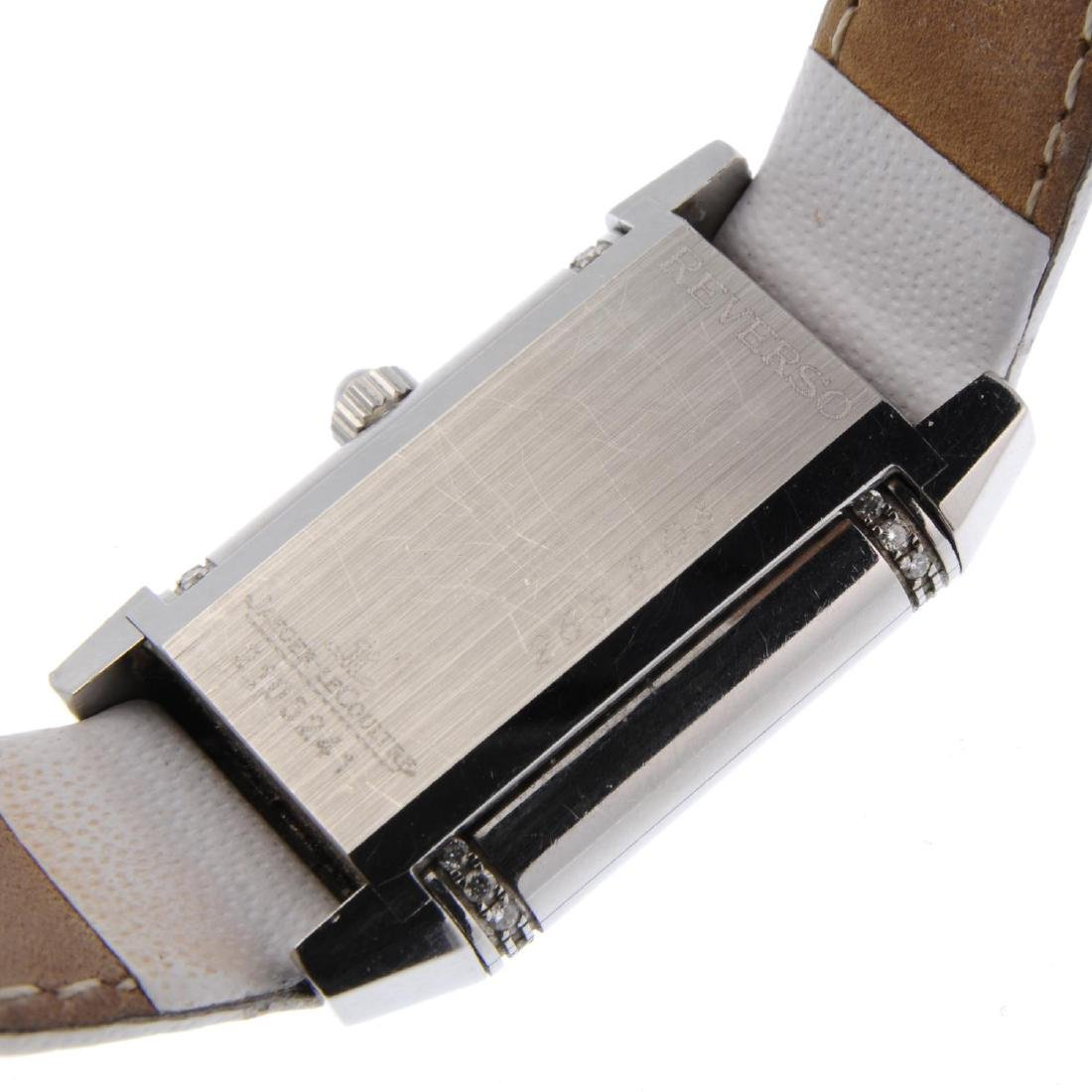JAEGER-LECOULTRE - a lady's Reverso wrist watch. - 3