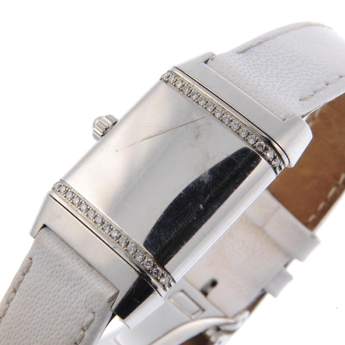 JAEGER-LECOULTRE - a lady's Reverso wrist watch. - 5