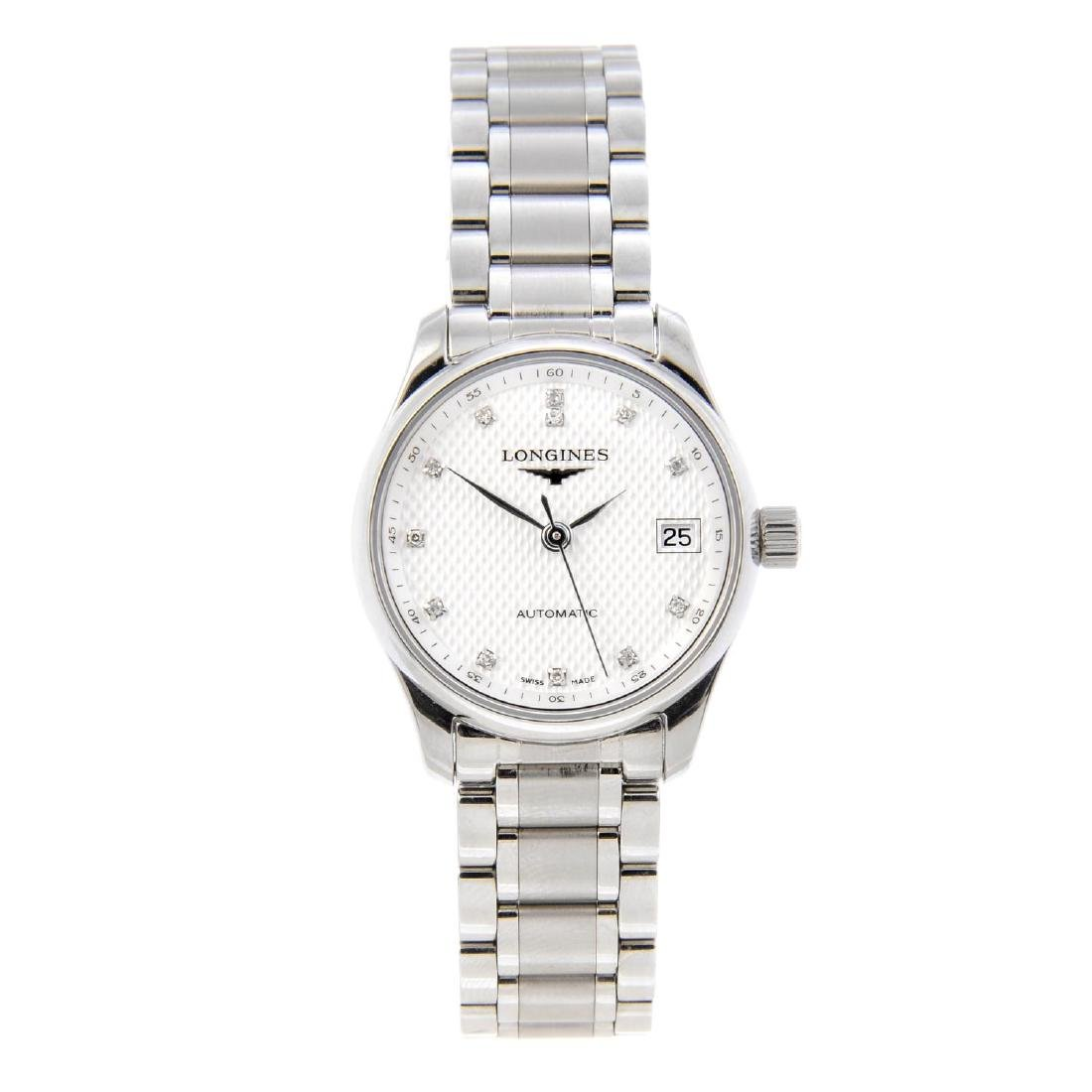 LONGINES - a lady's Master Collection bracelet watch.