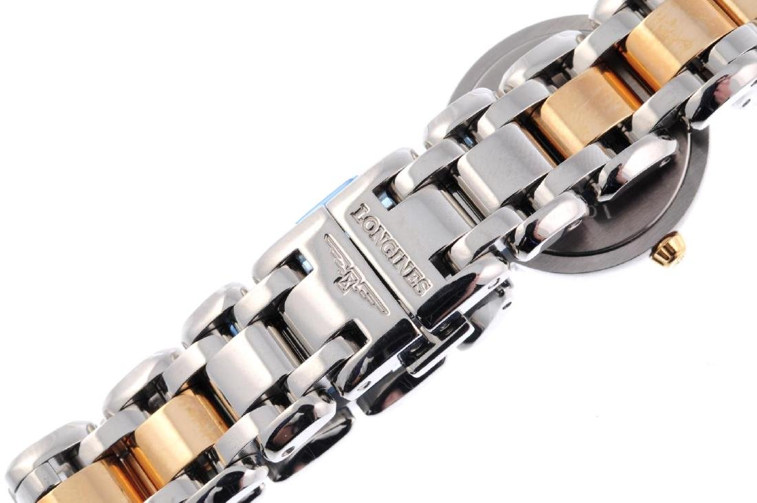 LONGINES - a lady's PrimaLuna bracelet watch. Stainless - 2