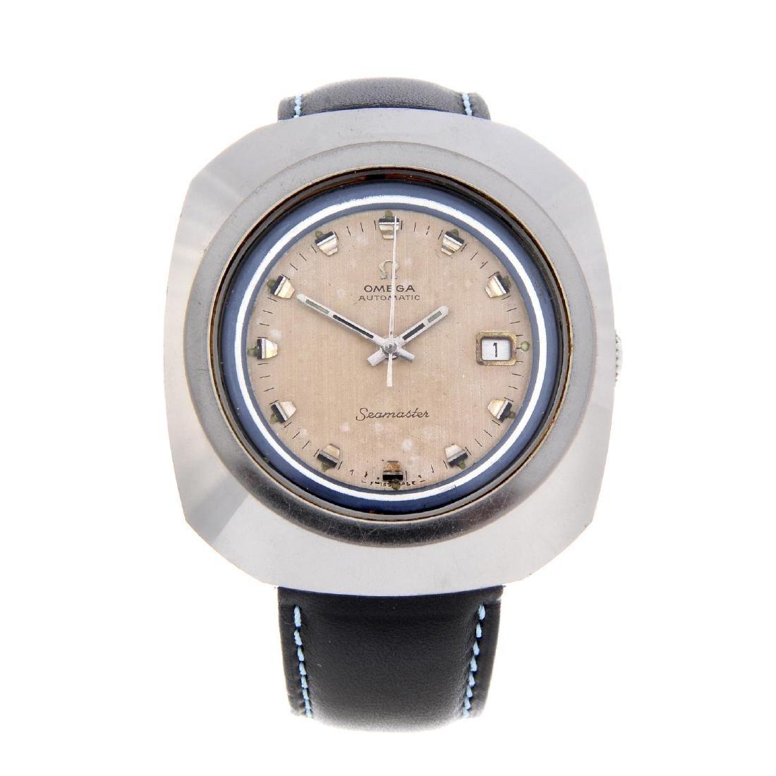OMEGA - a gentleman's Seamaster 'Giant' wrist watch.