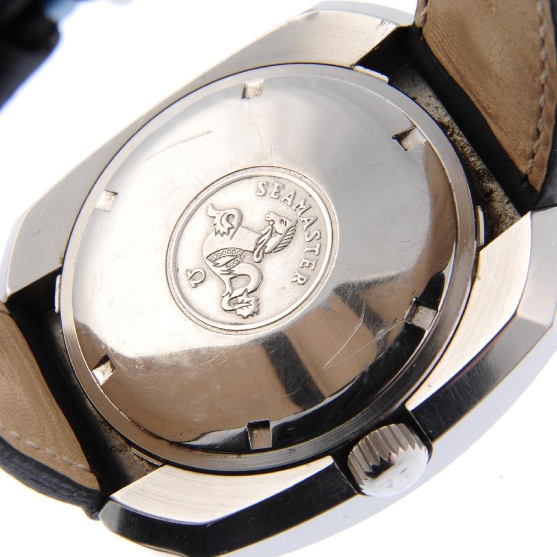 OMEGA - a gentleman's Seamaster 'Giant' wrist watch. - 3