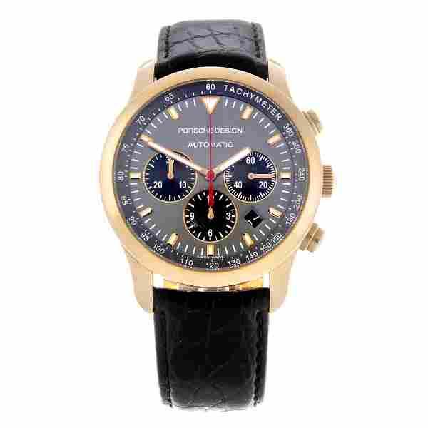 PORSCHE DESIGN - a gentleman's chronograph wrist watch.