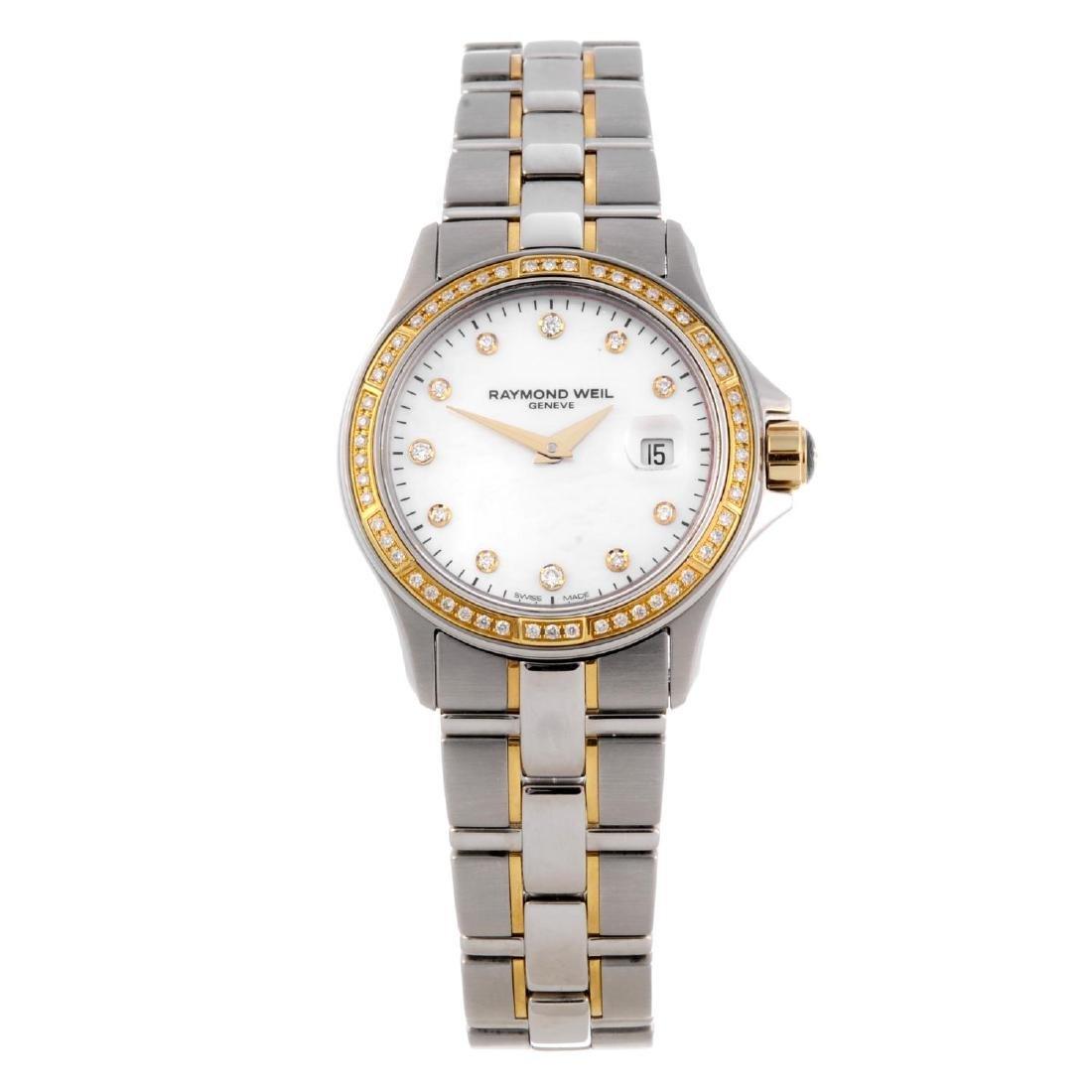 RAYMOND WEIL - a lady's Parsifal bracelet watch.