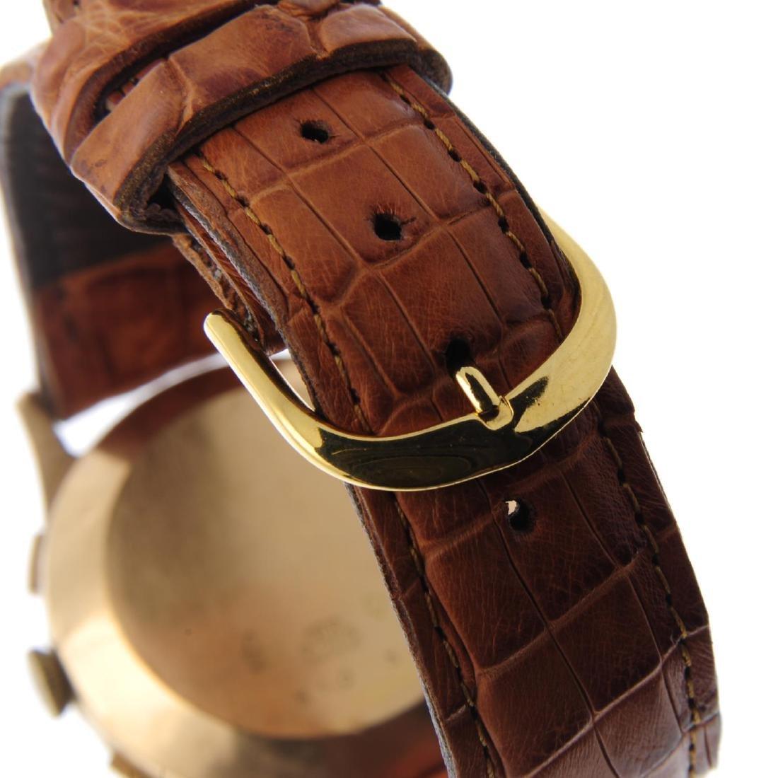 TERIAM - a gentleman's chronograph wrist watch. Yellow - 2