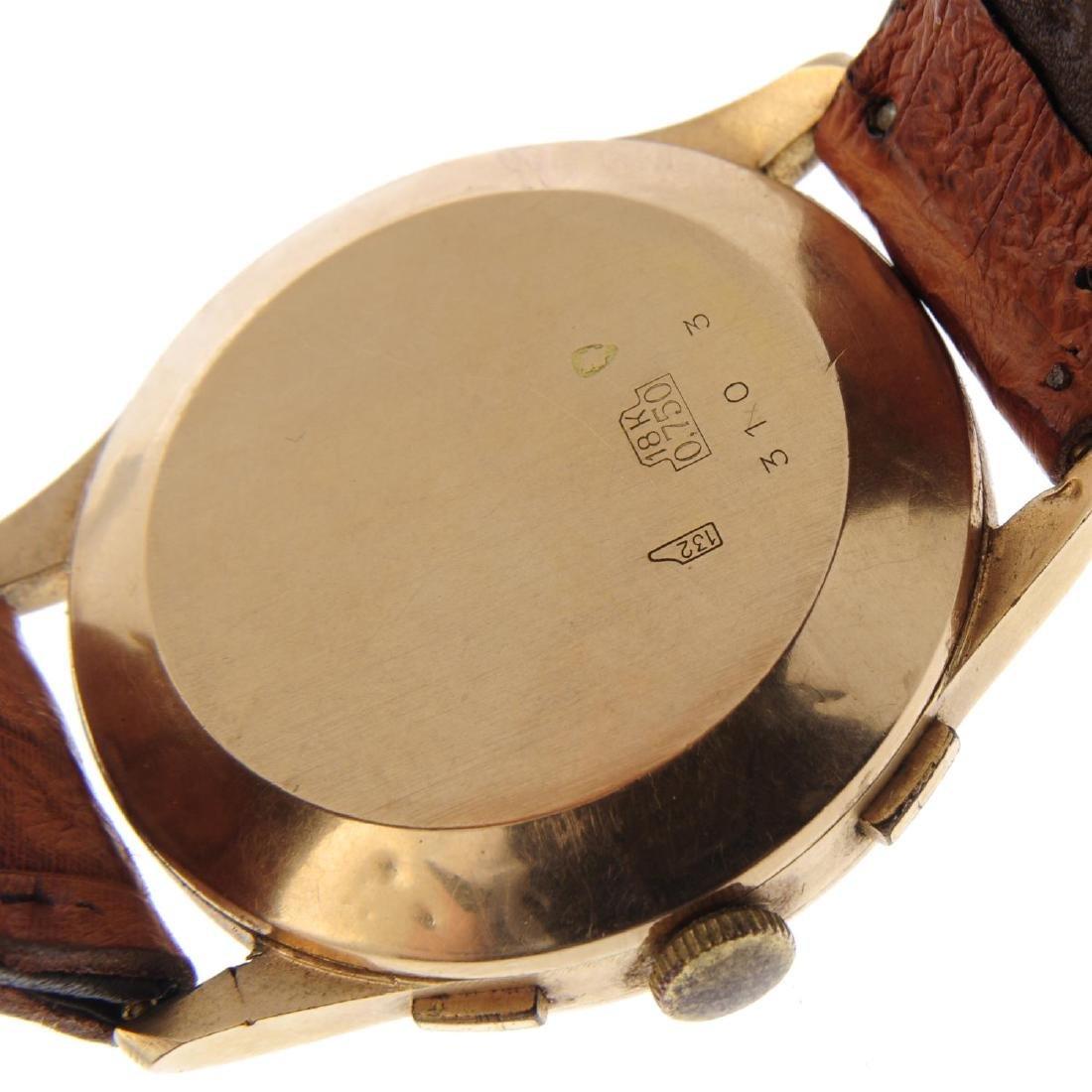 TERIAM - a gentleman's chronograph wrist watch. Yellow - 3