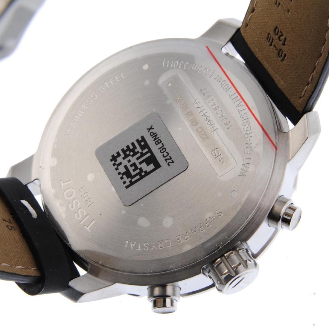 TISSOT - a gentleman's Quickster chronograph wrist - 3