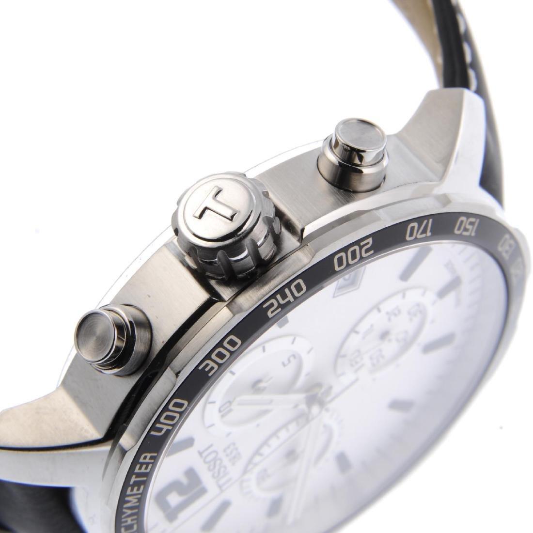 TISSOT - a gentleman's Quickster chronograph wrist - 4