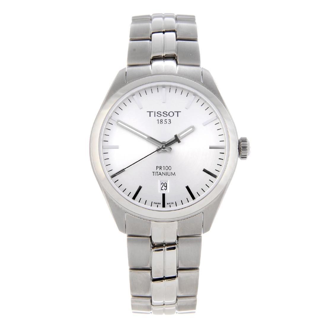 CURRENT MODEL: TISSOT - a gentleman's PR100 bracelet