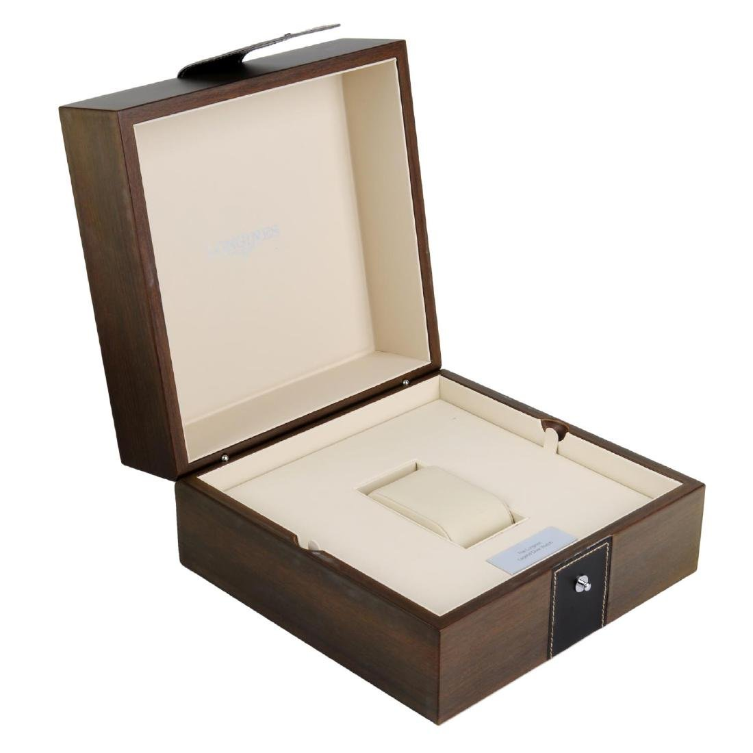 LONGINES - a complete watch box. - 2
