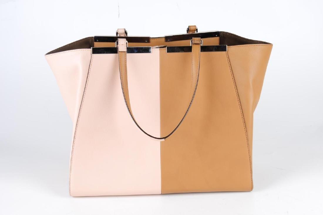 FENDI - a leather bicolour 3Jours handbag. Designed - 2
