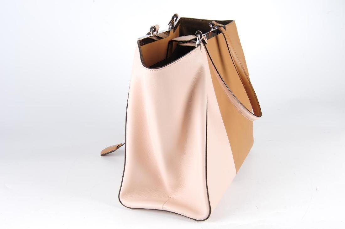 FENDI - a leather bicolour 3Jours handbag. Designed - 3