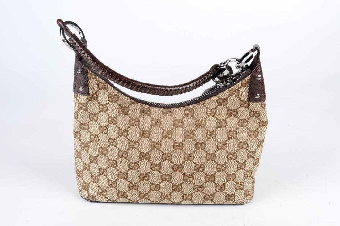 GUCCI - a Monogram canvas handbag. Designed with - 2