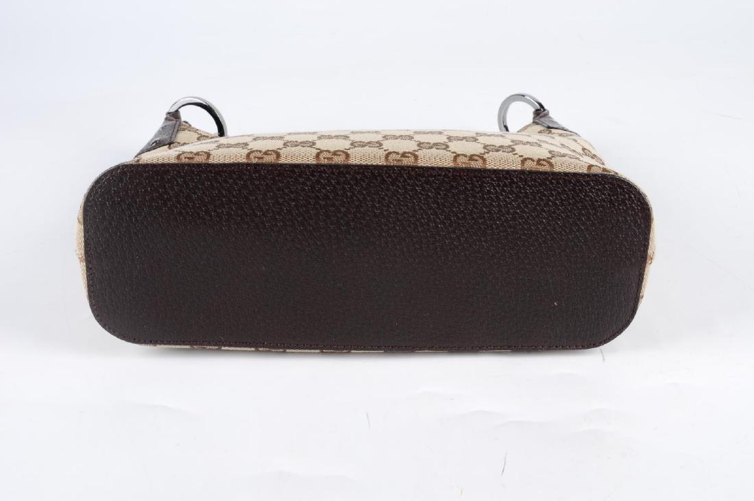 GUCCI - a Monogram canvas handbag. Designed with - 4