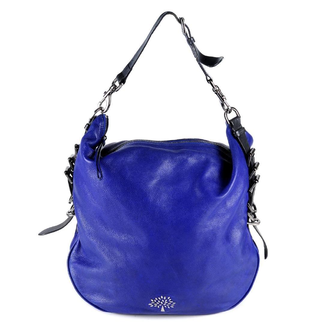 MULBERRY - a Mila Hobo handbag. Designed with an