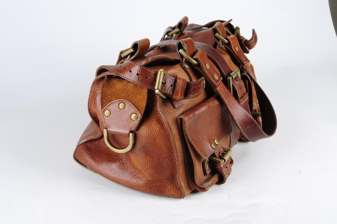 MULBERRY - an oak leather Roxanne handbag. With dual - 3