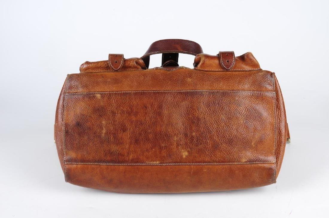 MULBERRY - an oak leather Roxanne handbag. With dual - 4