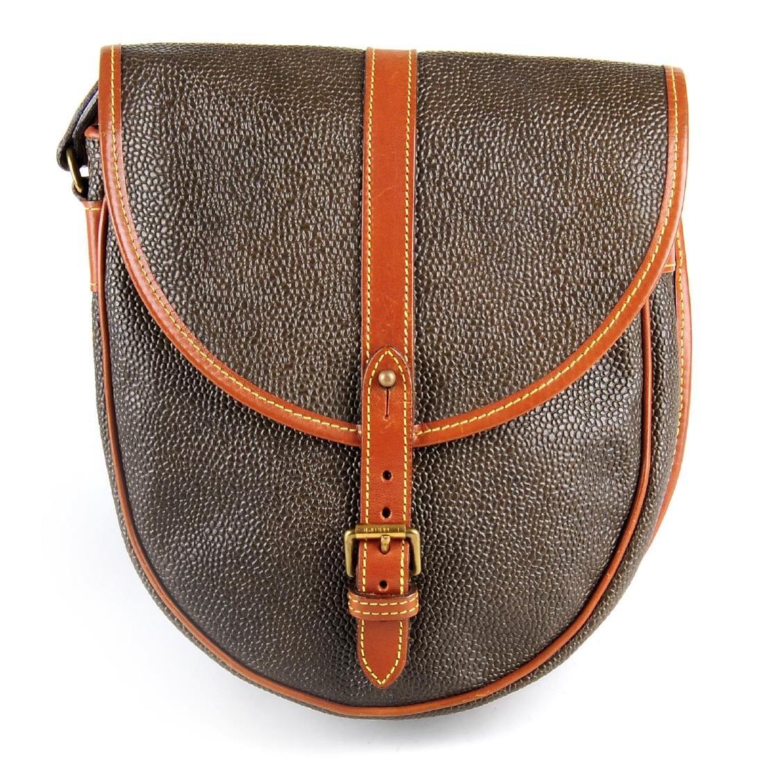 MULBERRY - a Branston Scotchgrain saddle bag. Designed