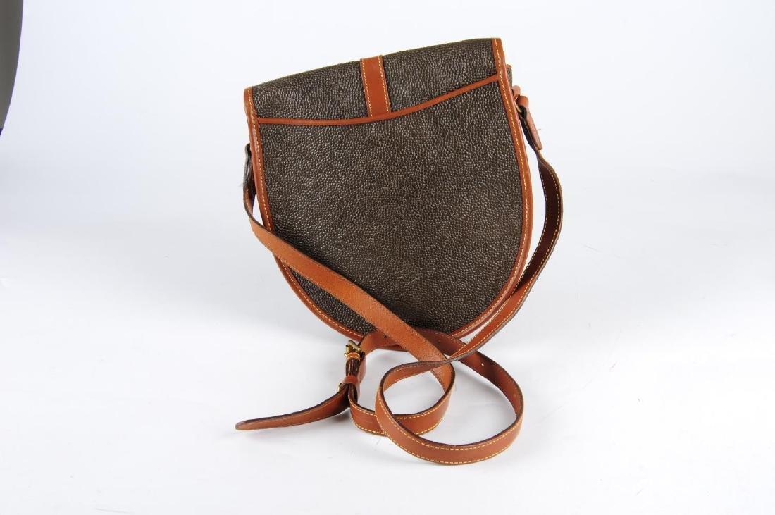 MULBERRY - a Branston Scotchgrain saddle bag. Designed - 2