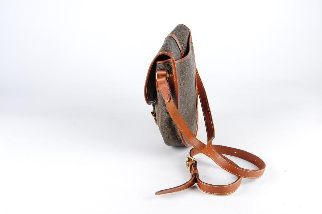 MULBERRY - a Branston Scotchgrain saddle bag. Designed - 3