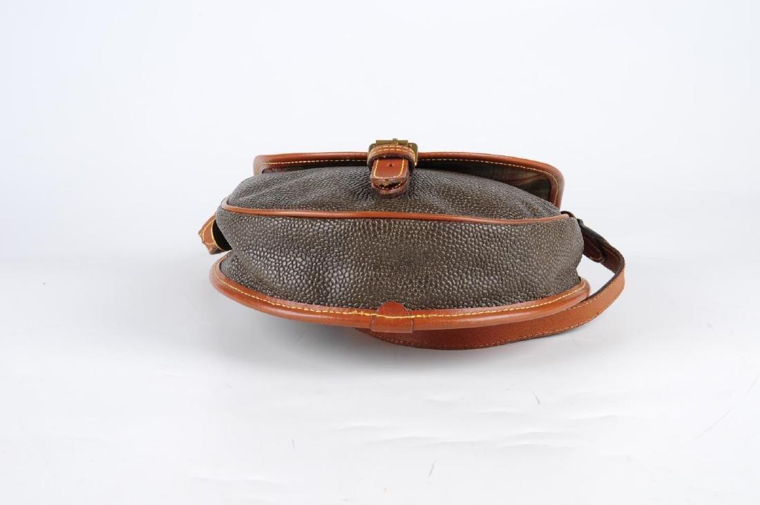 MULBERRY - a Branston Scotchgrain saddle bag. Designed - 4
