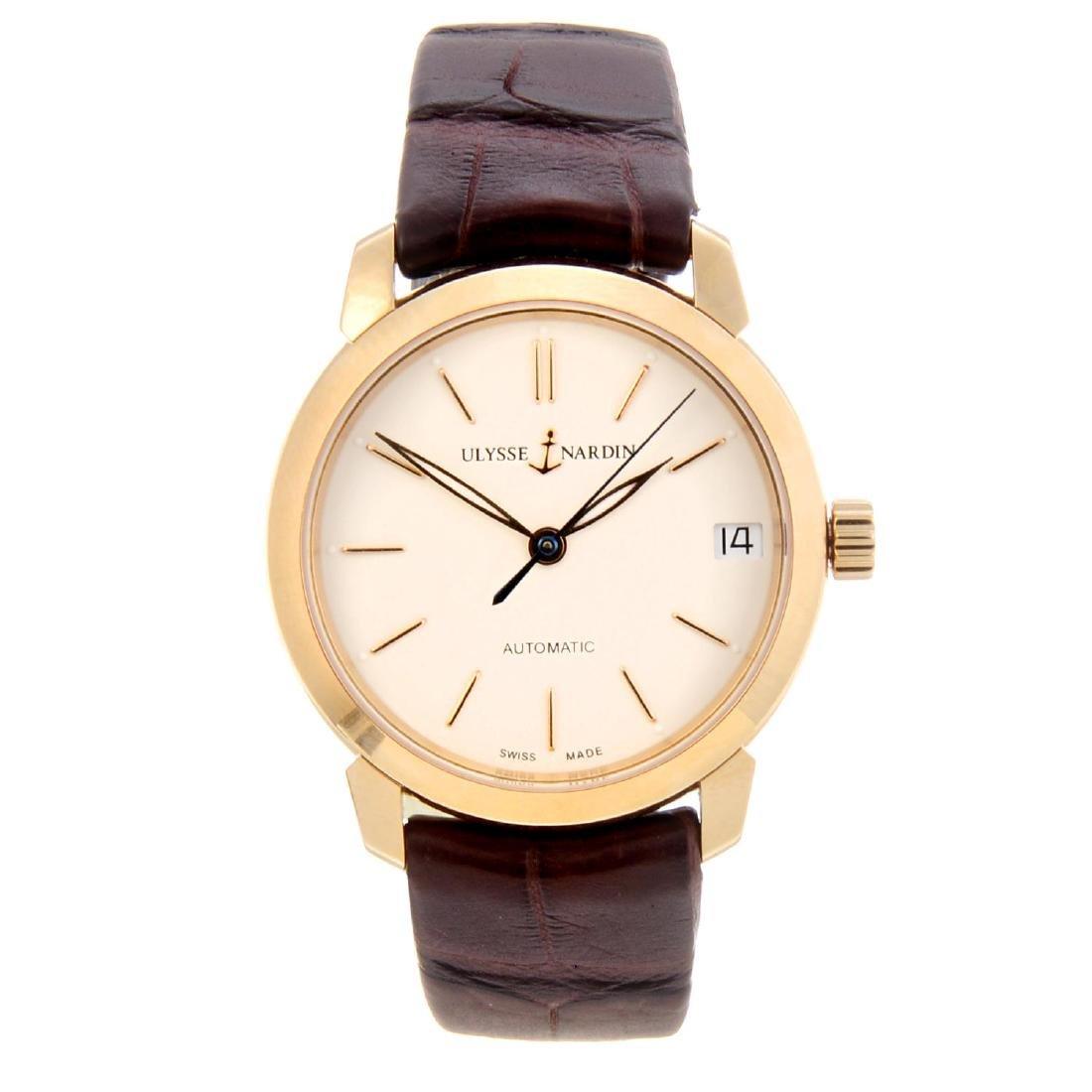 (130298) ULYSSE NARDIN - a lady's Classico wrist watch.