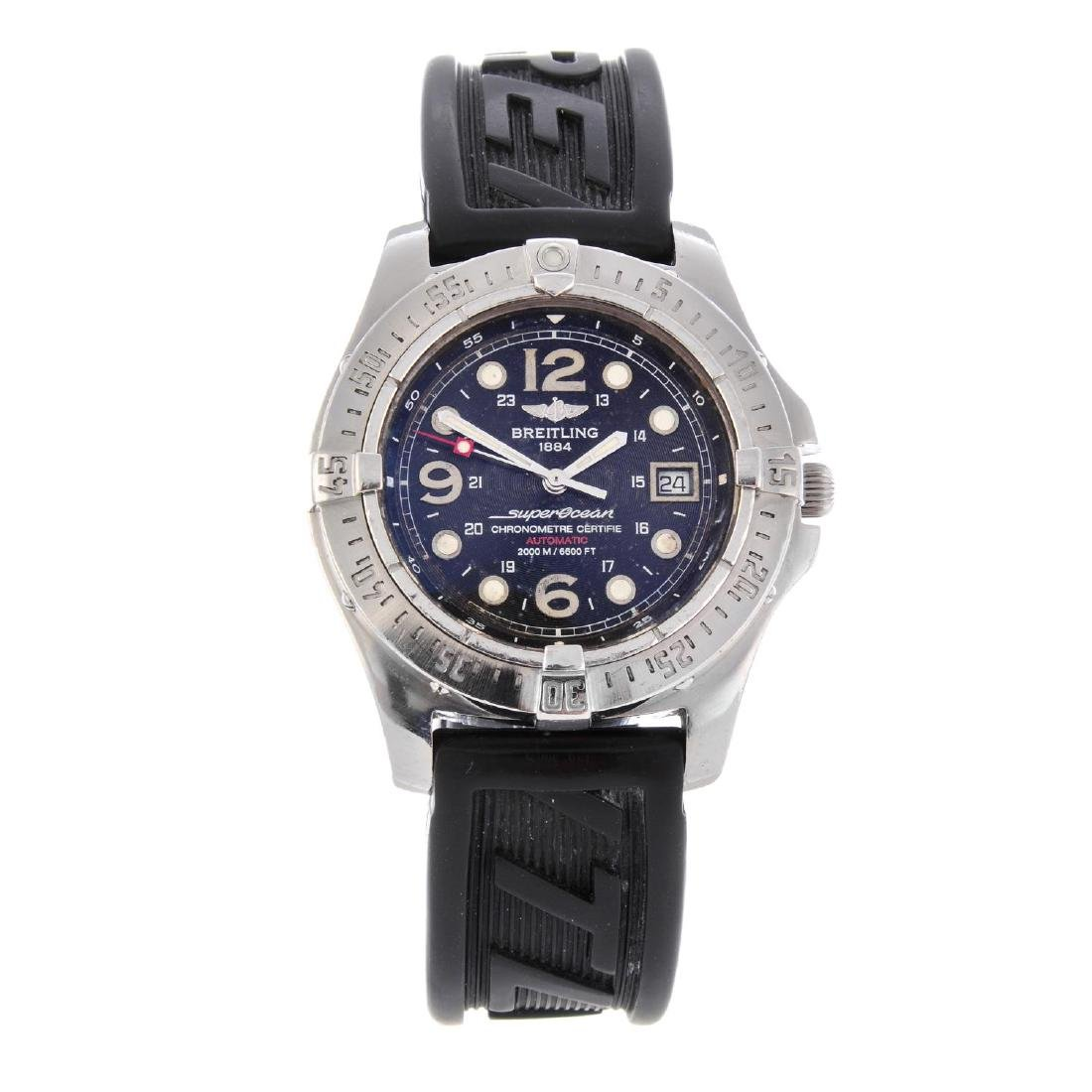BREITLING - a gentleman's SuperOcean Steelfish X-Plus