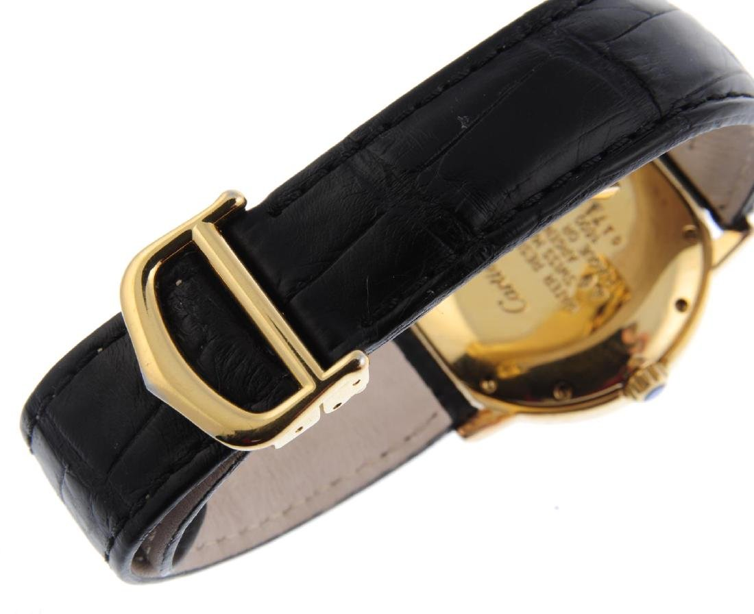 CARTIER - a Must de Cartier Ronde wrist watch. Gold - 2