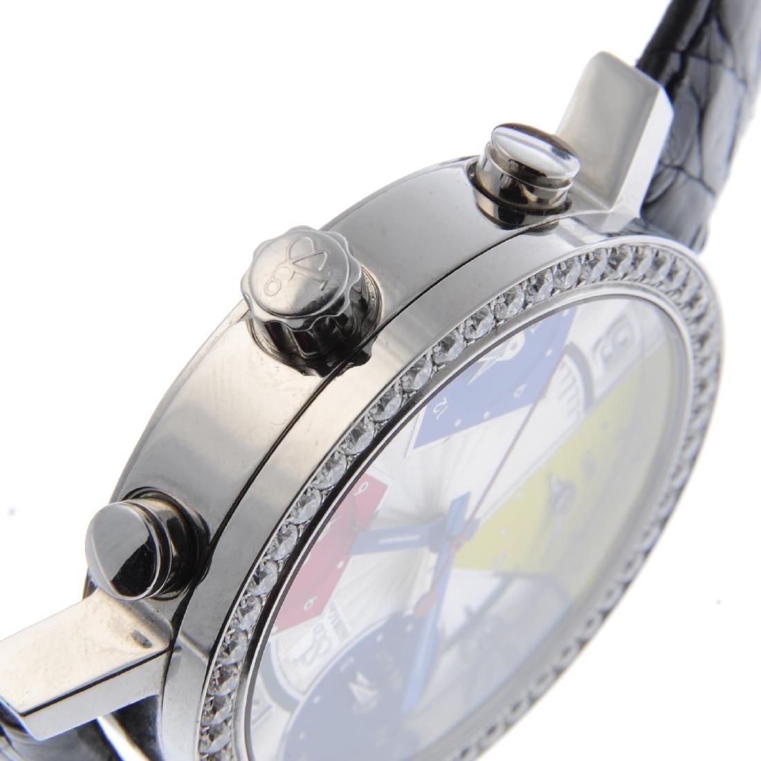 JACOB & CO. - a mid-size Five Time Zone wrist watch. - 3