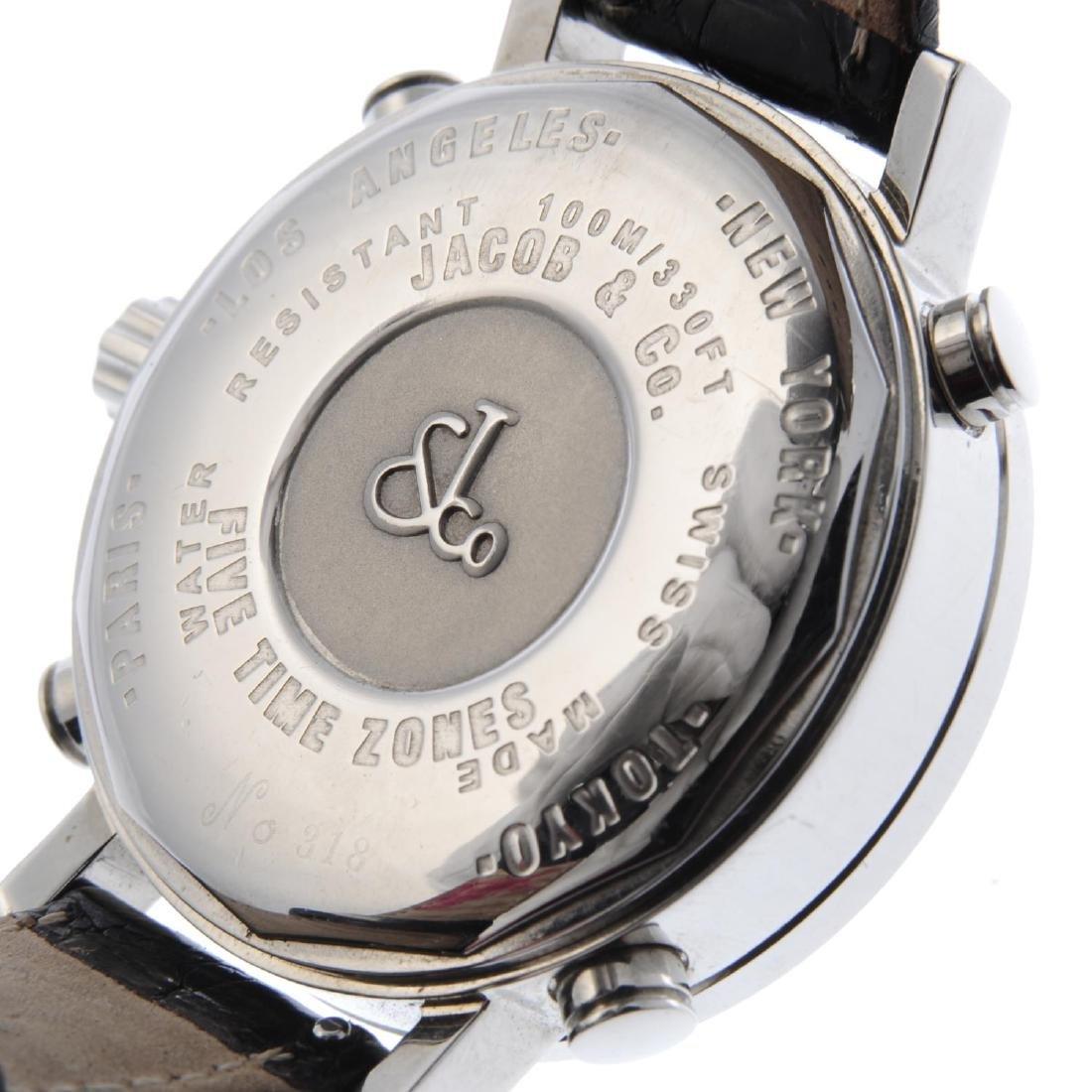 JACOB & CO. - a mid-size Five Time Zone wrist watch. - 5