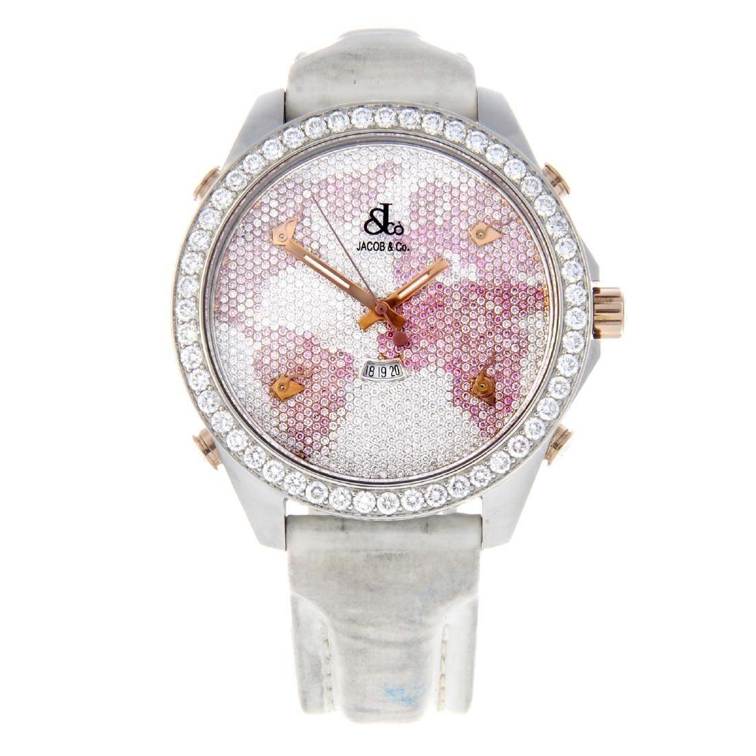 JACOB & CO - a lady's Five Time Zone wrist watch.