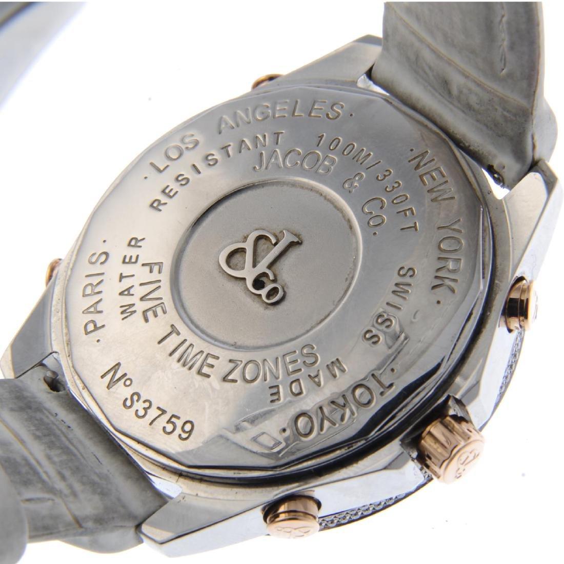 JACOB & CO - a lady's Five Time Zone wrist watch. - 3