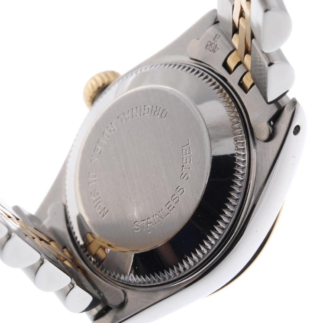 ROLEX - a lady's Oyster Perpetual Datejust bracelet - 3