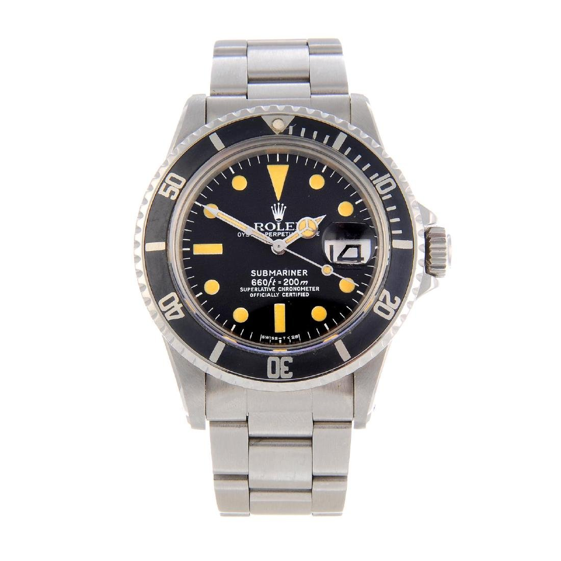 ROLEX - a gentleman's Oyster Perpetual Date Submariner